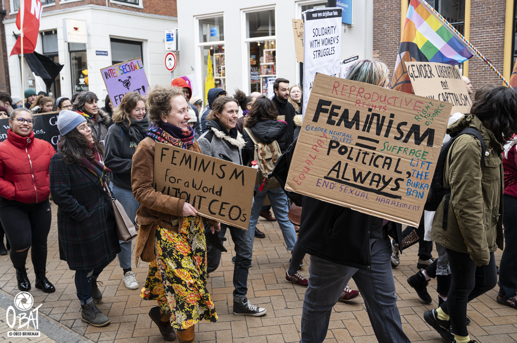 Women's March Groningen/ International Womxn's Day 2020