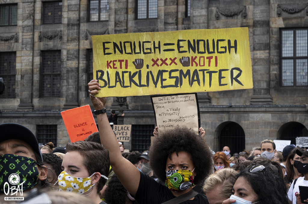 Solidarity Protest Against Anti-black Violence In The Us And Eu ::: 01-06-2020 Amsterdam