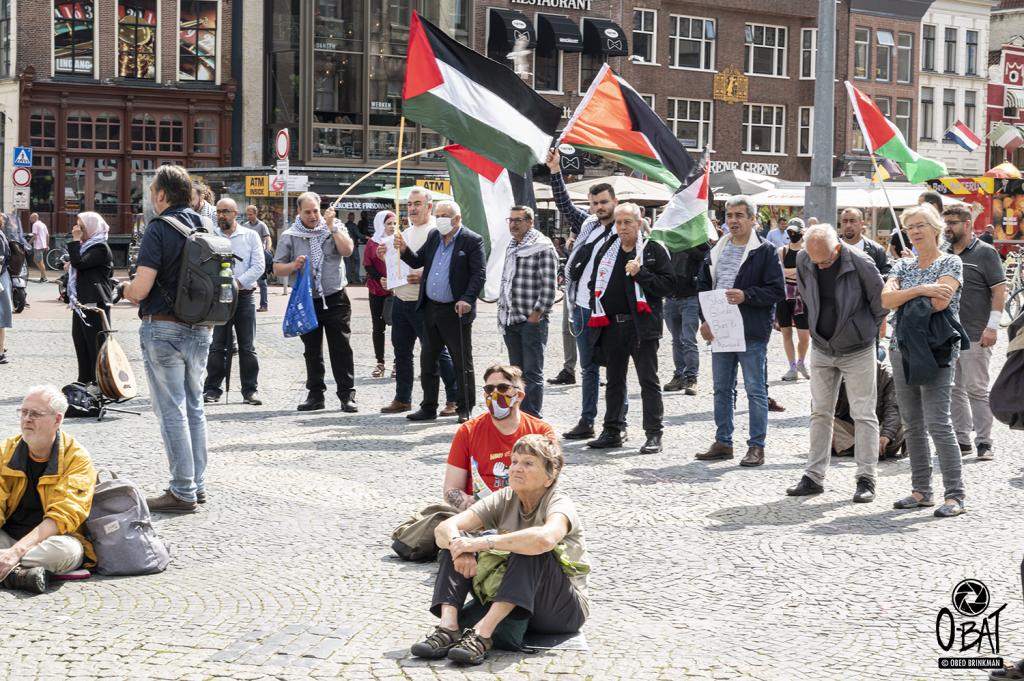 """Manifestatie """"Free Gaza! Free Palestine!"""" ::: 26-07-2020 Grote Markt - Groningen"""