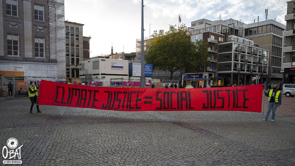 Drumming Protest: Global Climate Strike Groningen