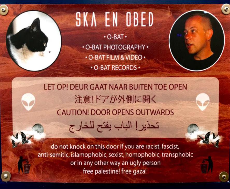 Obed's door