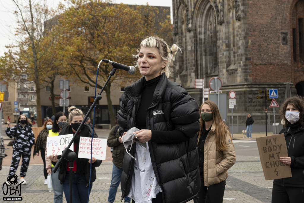 Protest: Fight for Abortion Rights in Poland ::: Groningen, the Netherlands 2020